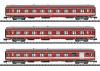 """""""Le Capitole"""" Express Train Passenger Car Set"""