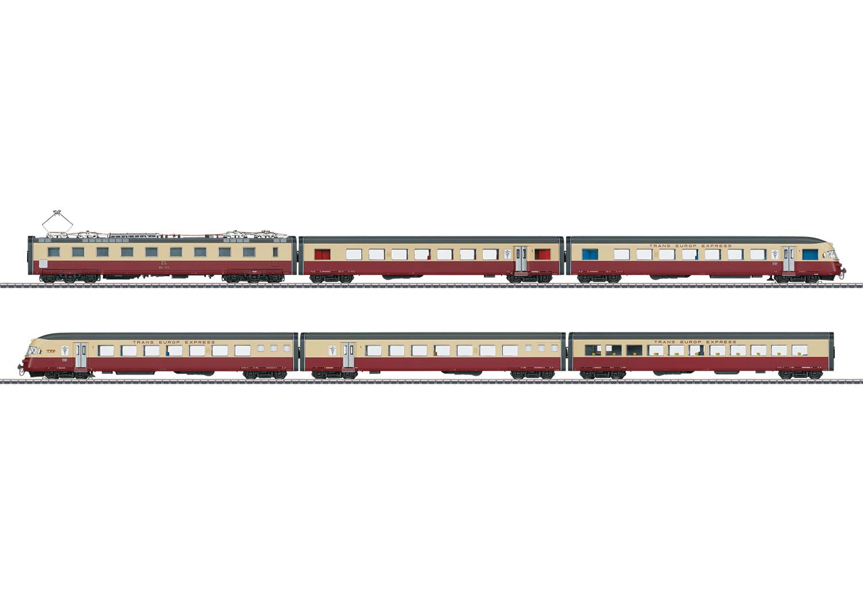 TEE-Elektro-Triebwagen-Zug
