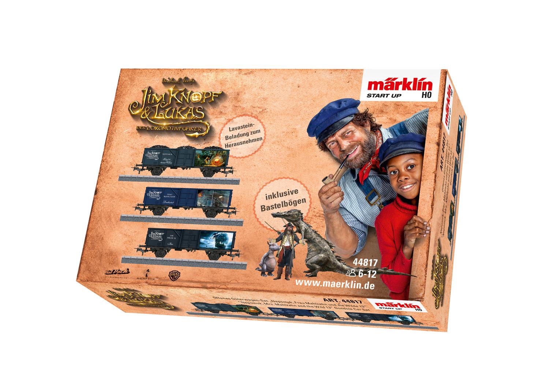 "Märklin Start up - ""Nepomuk, Mrs. Mahlzahn and the Wild 13"" Gondola Car Set"
