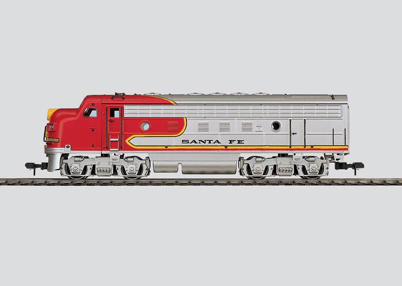 Heavy Diesel Locomotive (Unpowered Unit).