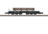 Schwerlasttransportwagen SSym 46 mit Ladegut T-Profile