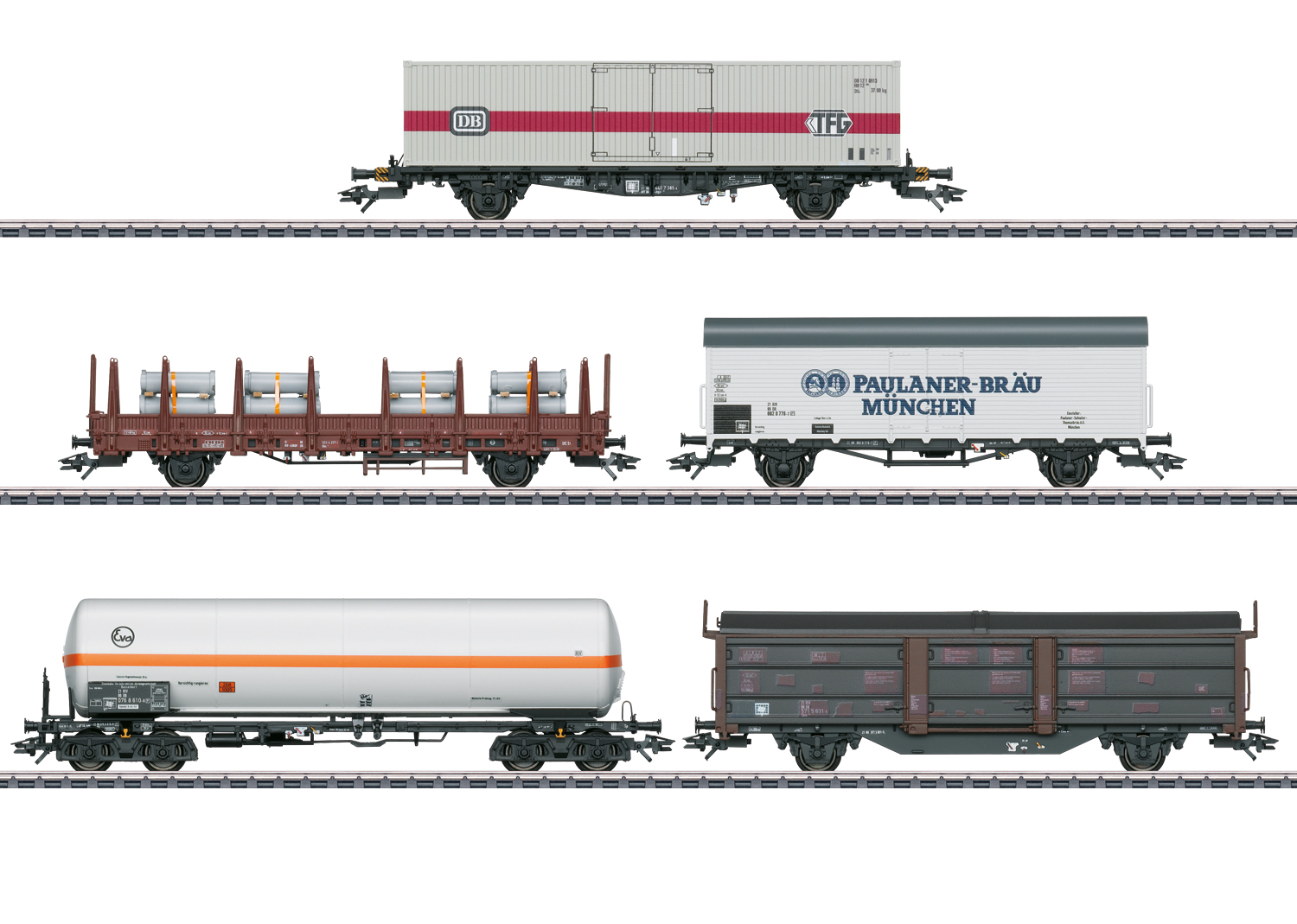 Freight Car Set for the Class 194