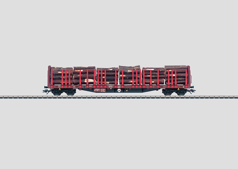 Wood Transport Car.