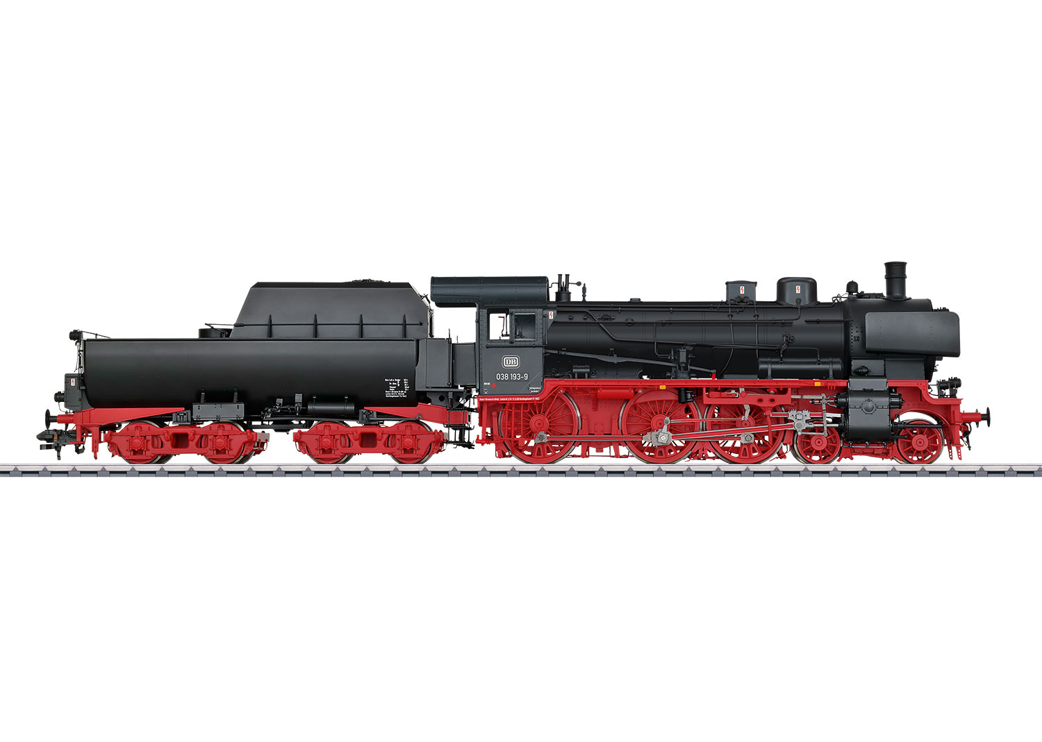 Steam Locomotive with a Tub-Style Tender