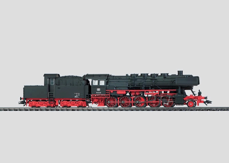 Freight Locomotive and Tender with Brakeman's Cab.