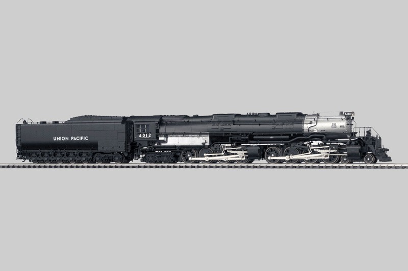 Steam Locomotive with Tender.