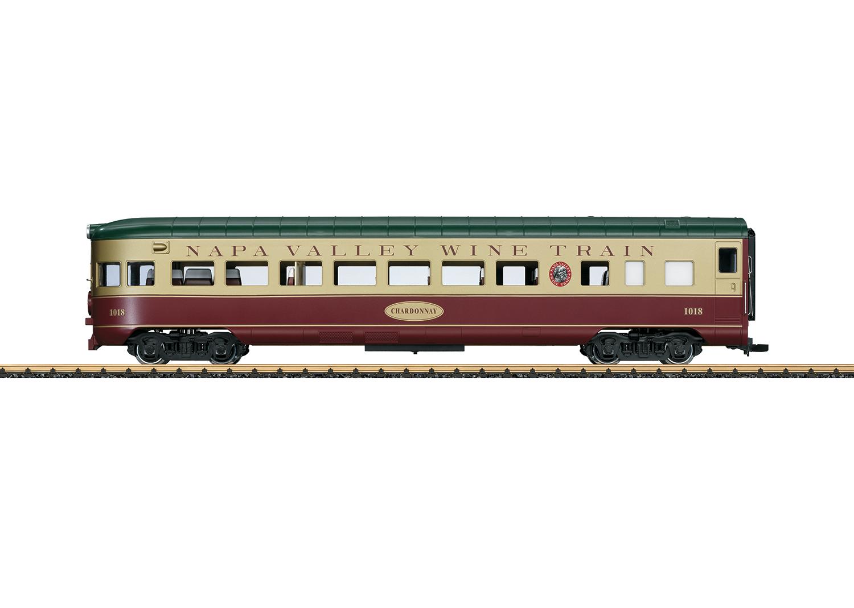 Napa Valley Wine Train Observation Car