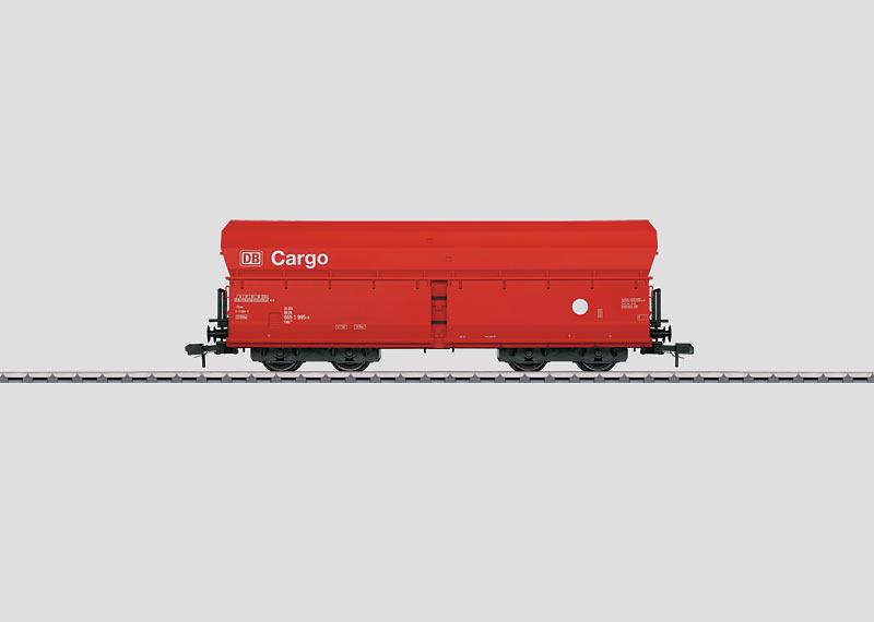 Schüttgutwagen.