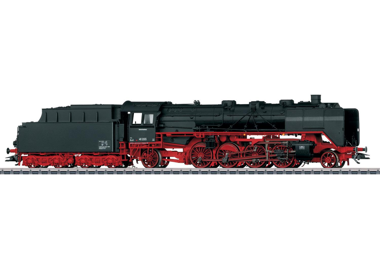Güterzug-Dampflokomotive mit Schlepptender