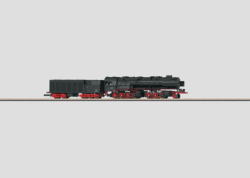 Steam Locomotive with a Condensation Tender.