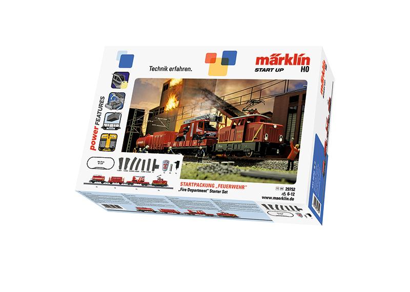 """Märklin Start up - Startpackung """"Feuerwehr"""""""