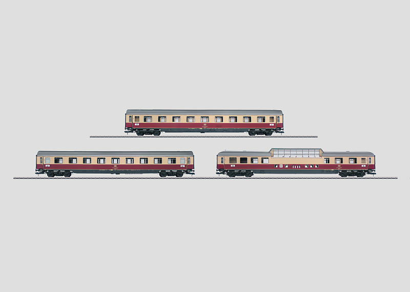 """Rheingold"" 1 Express Train Passenger Car Set."
