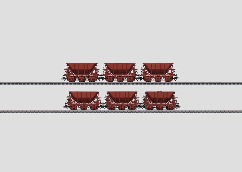 Erzwagen-Set 1.