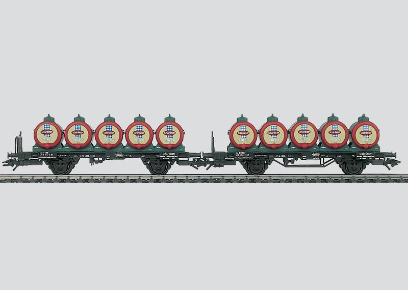 Milchtransportwagen-Set