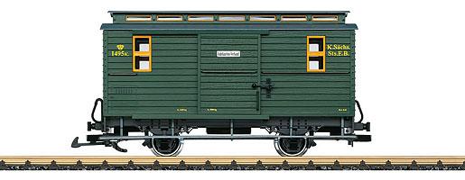 Sächsischer Zugführerwagen 1495K