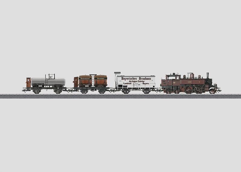 Pfalzbahn-Güterzug.