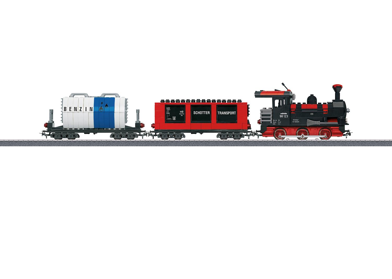 """Märklin Start up - """"Building Block Train"""" Starter Set with Sound and Light Building Blocks. 230 Volts"""