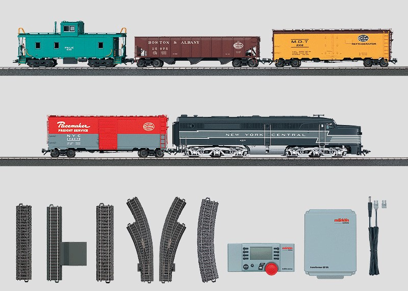 Usa Digital Starter Set Freight Train With Diesel