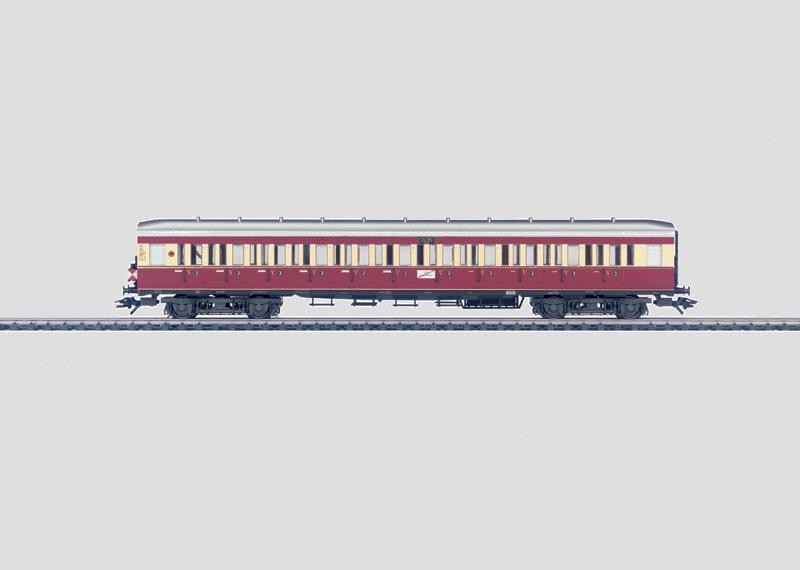 """""""Ruhr Express Service"""" Commuter Car."""