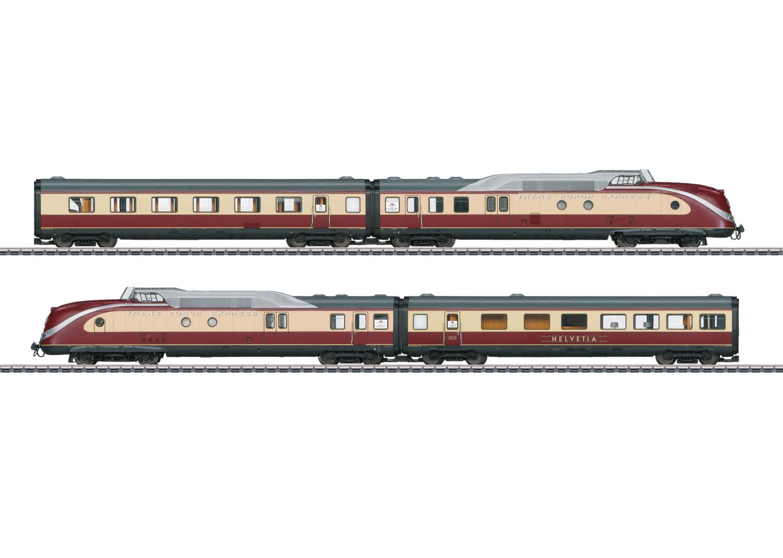 VT 11.5 TEE Diesel Powered Rail Car Train