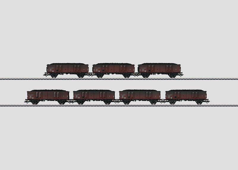 Freight Car Set.