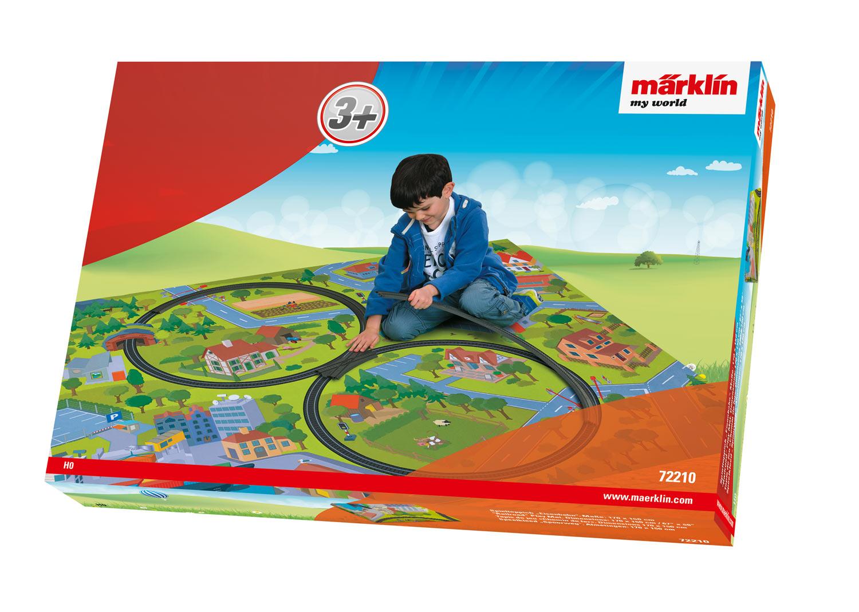 """Railroad"" Play Mat."