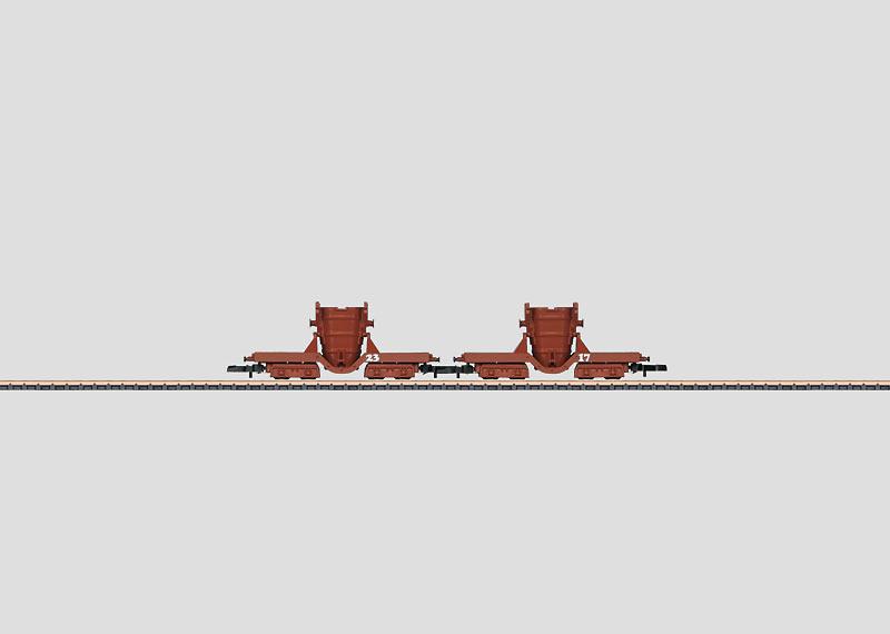 Crude Iron Car Set