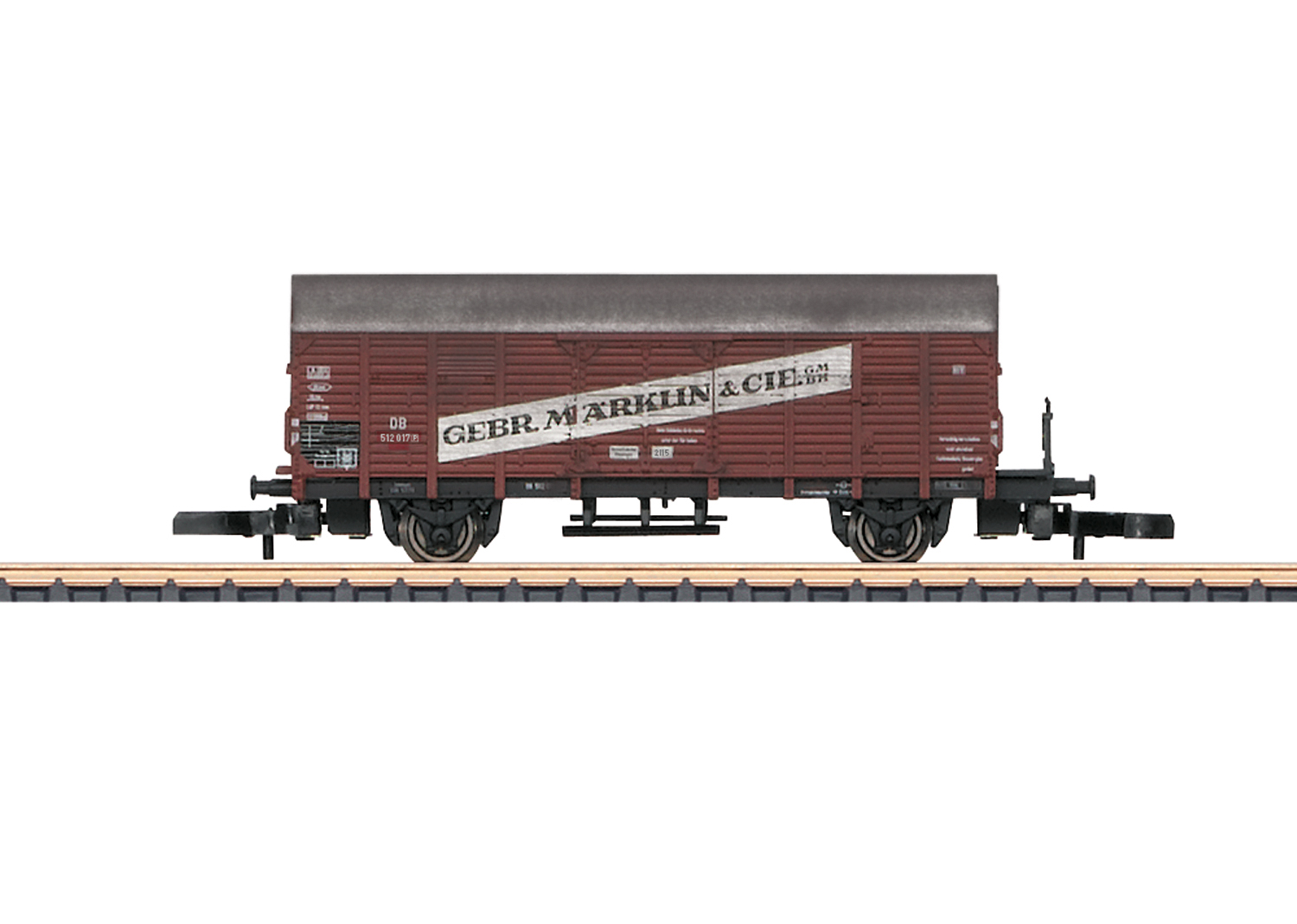 "Type Gl ""Dresden"" Boxcar mit the Advertising Lettering ""Märklin"""