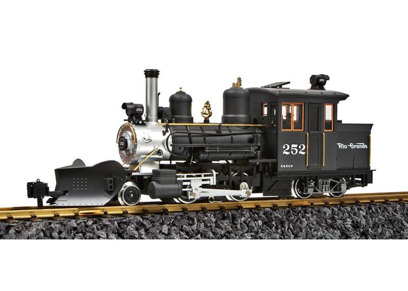 Rio Grande Forney Steam Loco #252