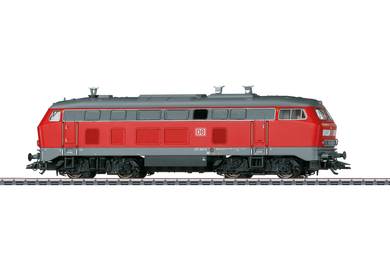 Class 217 Diesel Locomotive