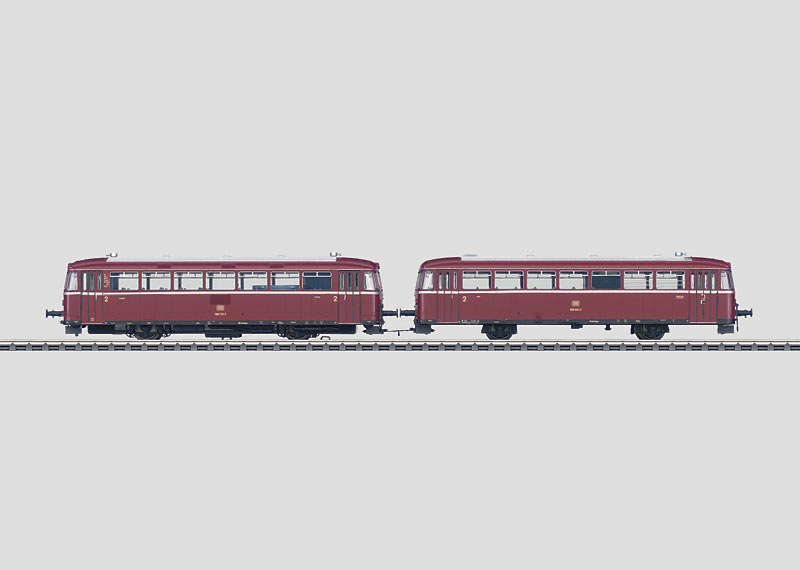 Rail Bus with Control Car.
