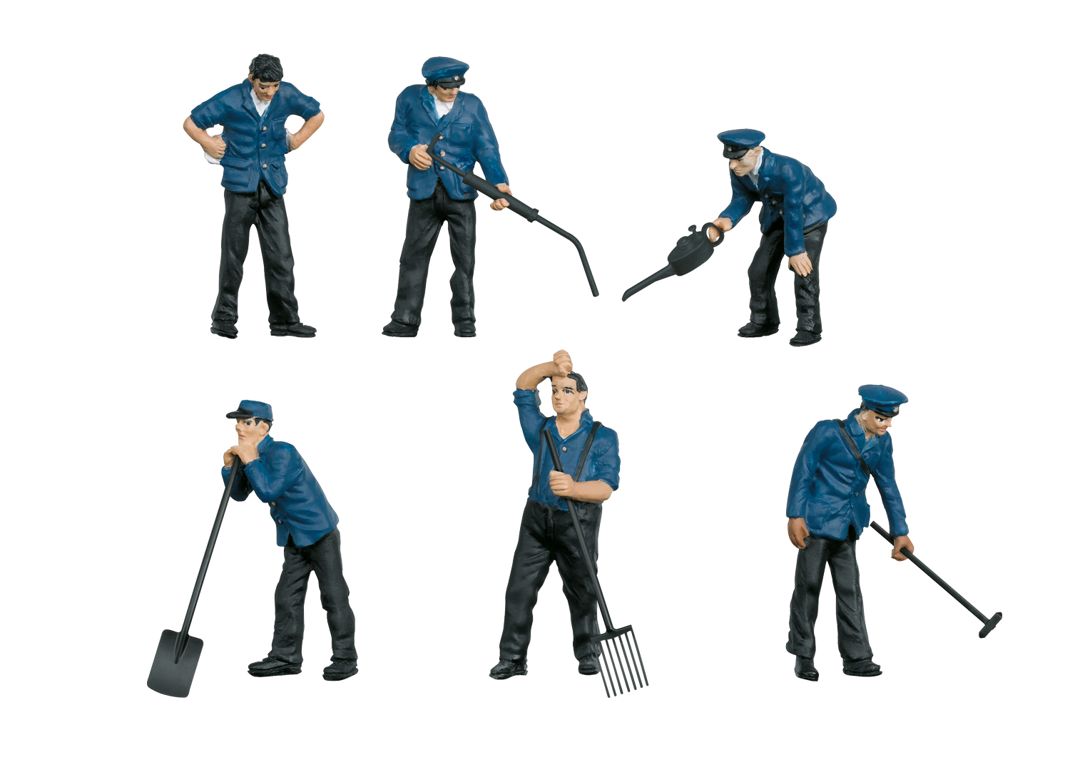 """""""Railroad Maintenance Workers"""" Group of Figures"""