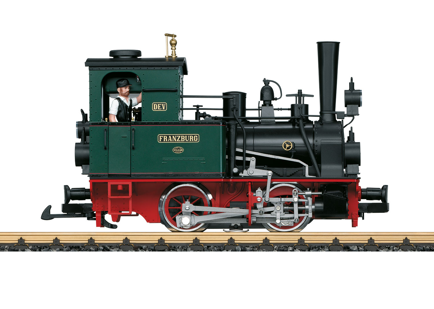 """Franzburg"" Steam Locomotive"
