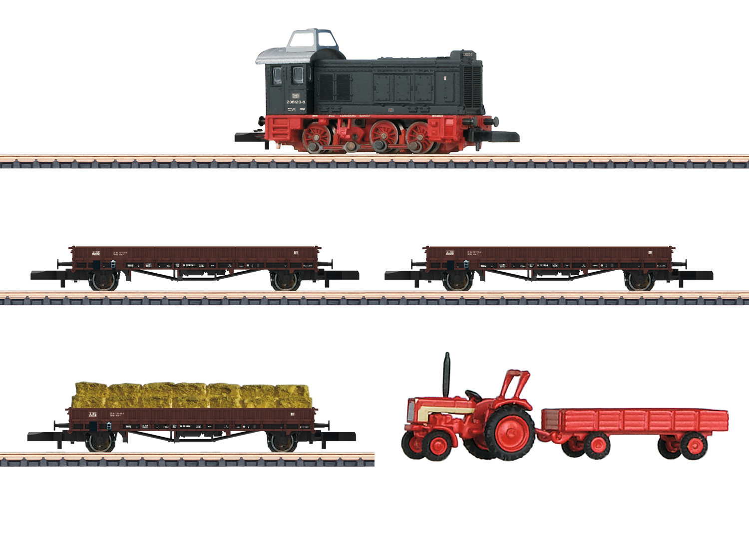"""Light Freight Train"" Train Set"