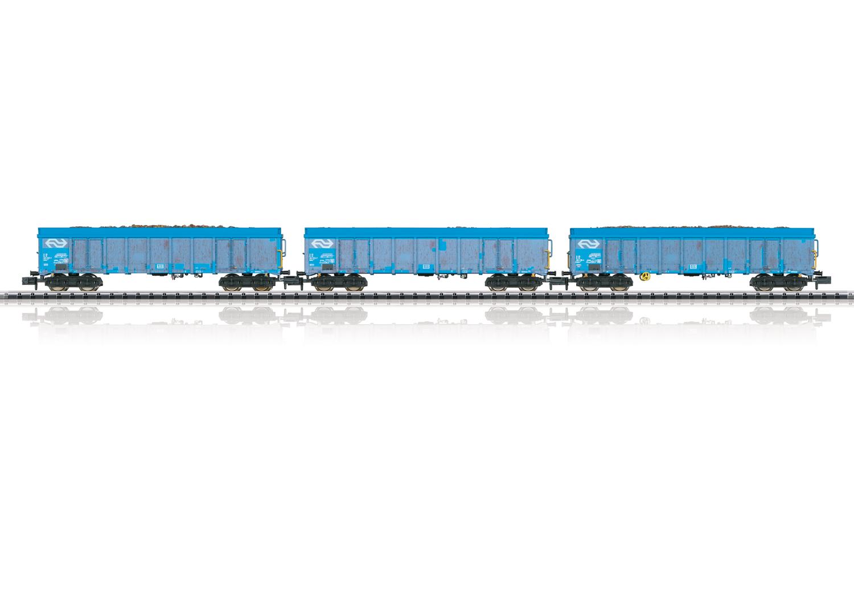"Güterwagen-Set ""Holzhackschnitzeltransport"""