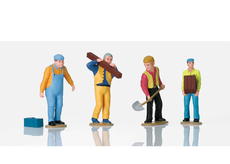 Figuren-Set Arbeiter