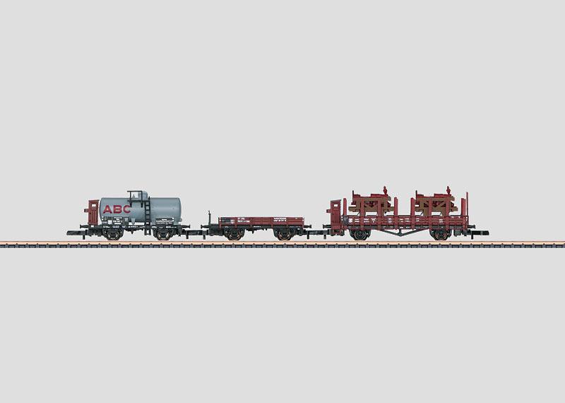 Era II Freight Car Set.