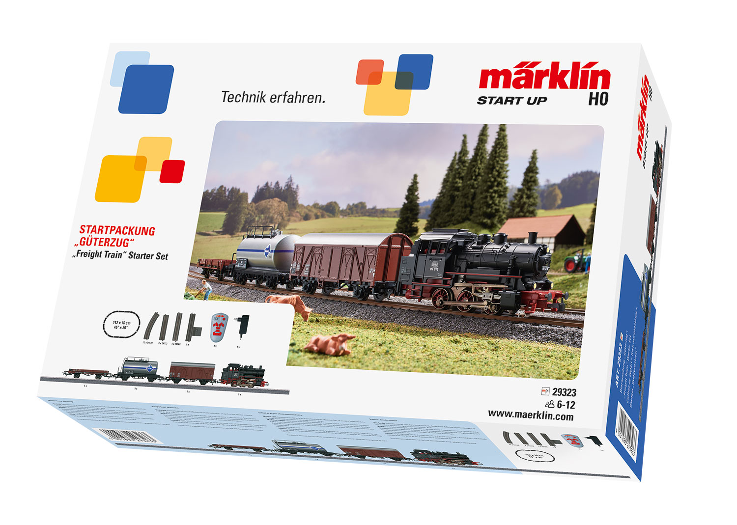 """Freight Train"" Starter Set"