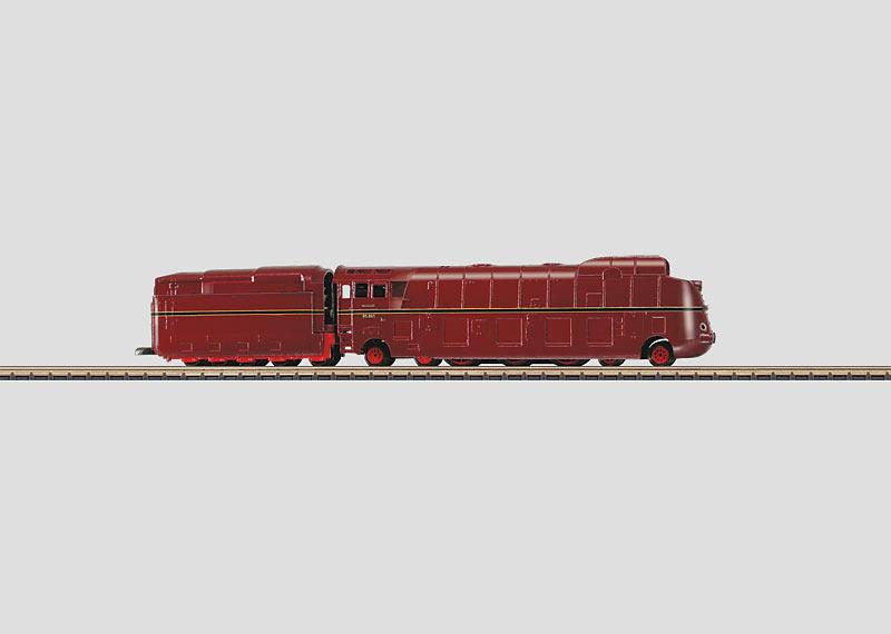 Stromlinien-Dampflokomotive
