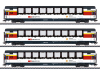 "Schnellzugwagen-Set ""Gotthard Panorama Express"""