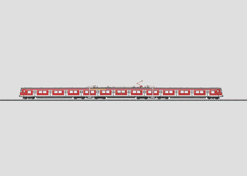 S-Bahn treinstel.
