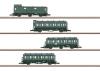 German Federal Railroad Passenger Car Set