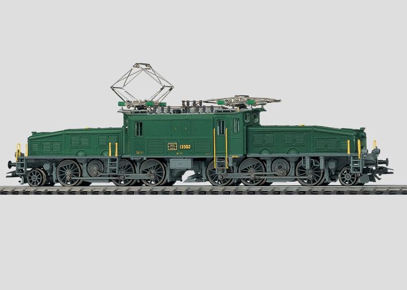 """Güterzuglokomotive """"Krokodil""""."""