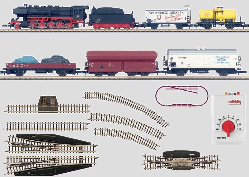 Märklin 4878 couvert-wagons de la DB nh1090