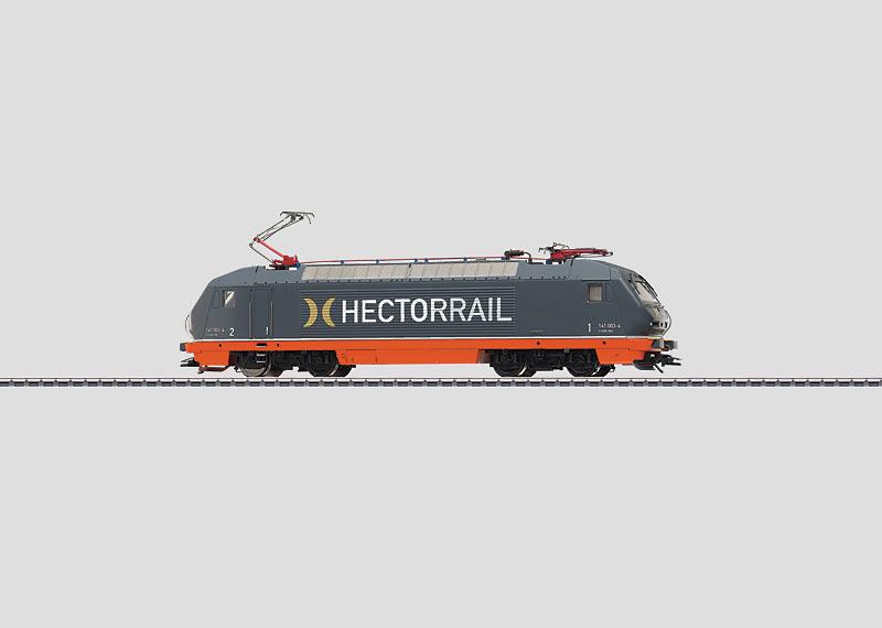 Powerful Electric Locomotive.