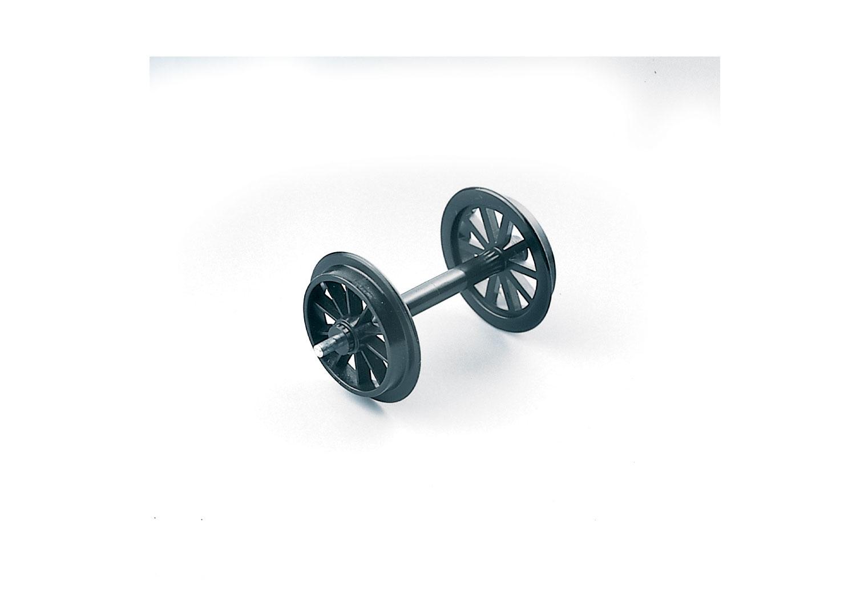 Kunststoff-Speichenradsatz, 2 Stück