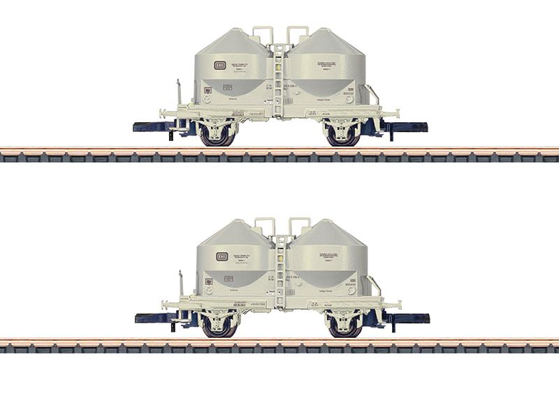 Staubsilowagen-Set