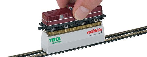 Locwielreinigingsborstel voor Minitrix en Spoor Z
