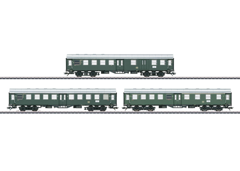 "Three Passenger Cars (""Umbauwagen"" / ""Rebuild Cars"")"