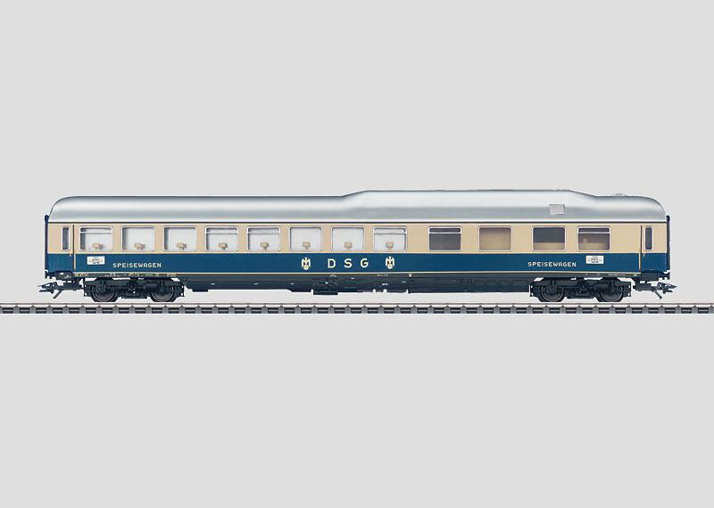 "Express Train Passenger Car for the ""Rheingold""."
